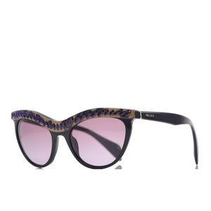 Prada Crystal Cat Eye Sunglasses Retro Rhianna